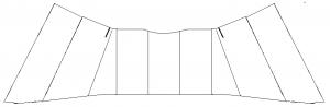 Skirt layout