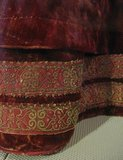 Figure 26 Detail of Hem tuck of petticoat in figure 4.