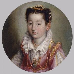 Portrait of Girl, Lavinia Fontana, 1580.