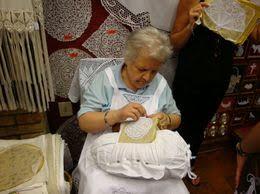 Burano lace-maker Museo del Merlett